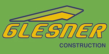 GLESNER CONSTRUCTION Logo