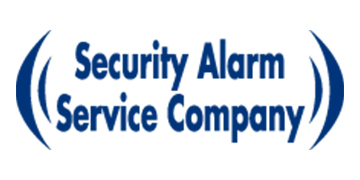 Security Alarm Service Company Logo