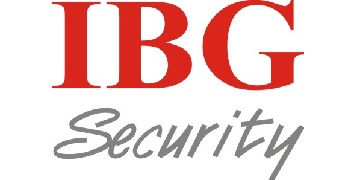 IBG SECURITY Logo