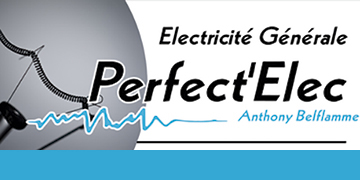 PERFECT'ELEC Anthony Belflamme Logo