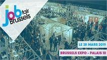 Rendez-vous le 28 mars à Job Fair Brussels!