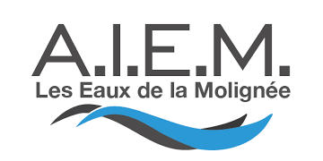 ASSOCIATION INTERCOMMUNALE DES EAUX DE LA MOLIGNÉE (AIEM) Logo